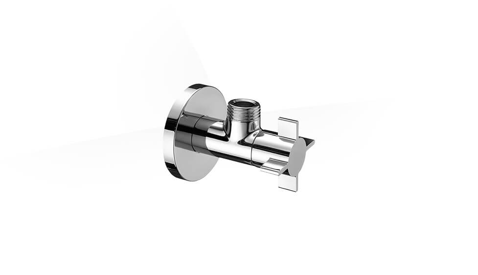 SCHELL design angle valve with regulating function 4WING by Schell at ABC Emporio Kochi