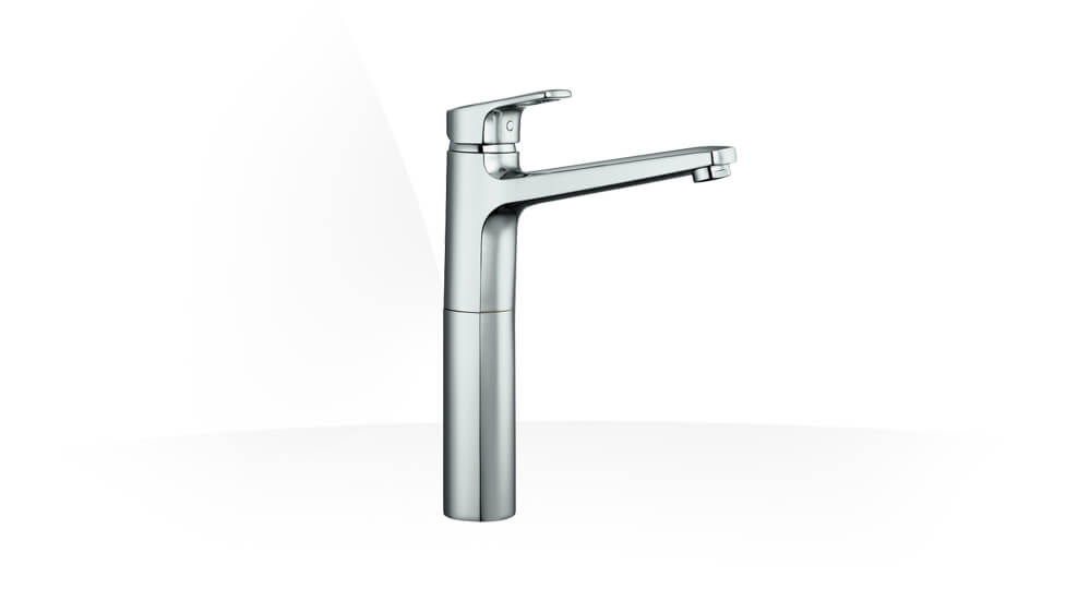 Column basin mixer, projection 190 mm, without pop-up waster by Laufen at ABC Emporio Kochi