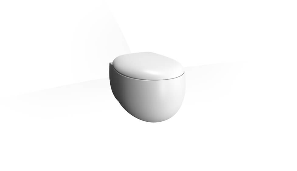 Memoria Rim-Ex Wall-Hung WC Pan, 54 cm,White by VitrA at ABC Emporio Kochi