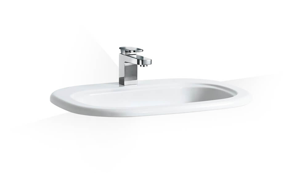 Drop-in washbasin by Laufen at ABC Emporio Kochi
