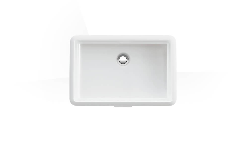 Built-in washbasin by Laufen at ABC Emporio Kochi