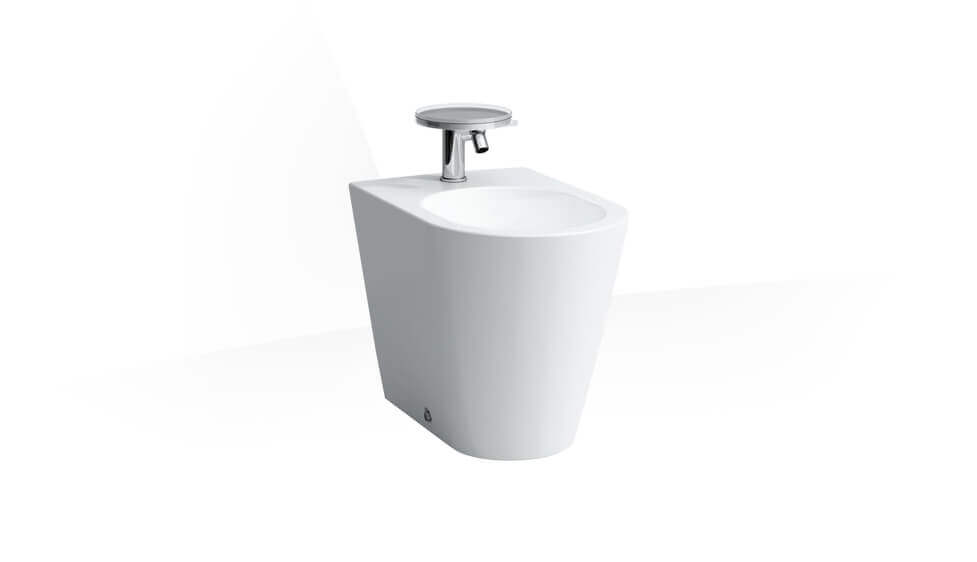 Floorstanding bidet by Laufen at ABC Emporio Kochi