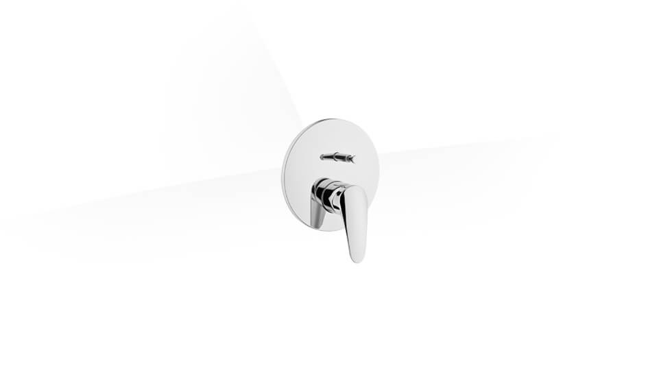 Dynamic S Built-in Bath/Shower Mixer (Exposed Part) by VitrA at ABC Emporio Kochi