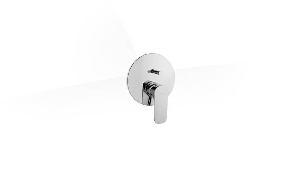 X-Line Built-in Bath/Shower Mixer (Exposed Part) by VitrA at ABC Emporio Kochi