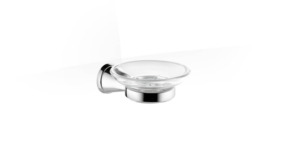 Complementary Soap dish in polished chrome by Kohler at ABC Emporio Kochi