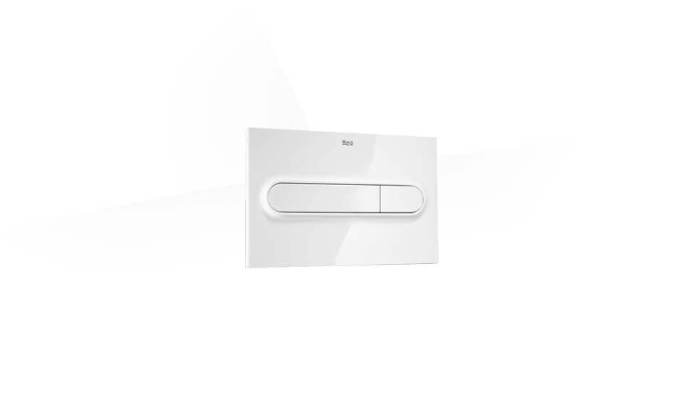 PLUS - Dual flush operating plate for concealed cistern by Roca at ABC Emporio Kochi