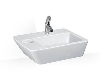 Washbasin by Laufen at ABC Emporio Kochi