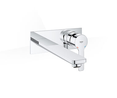 Lineare Two-hole basin mixer L-Size by Grohe at ABC Emporio Kochi